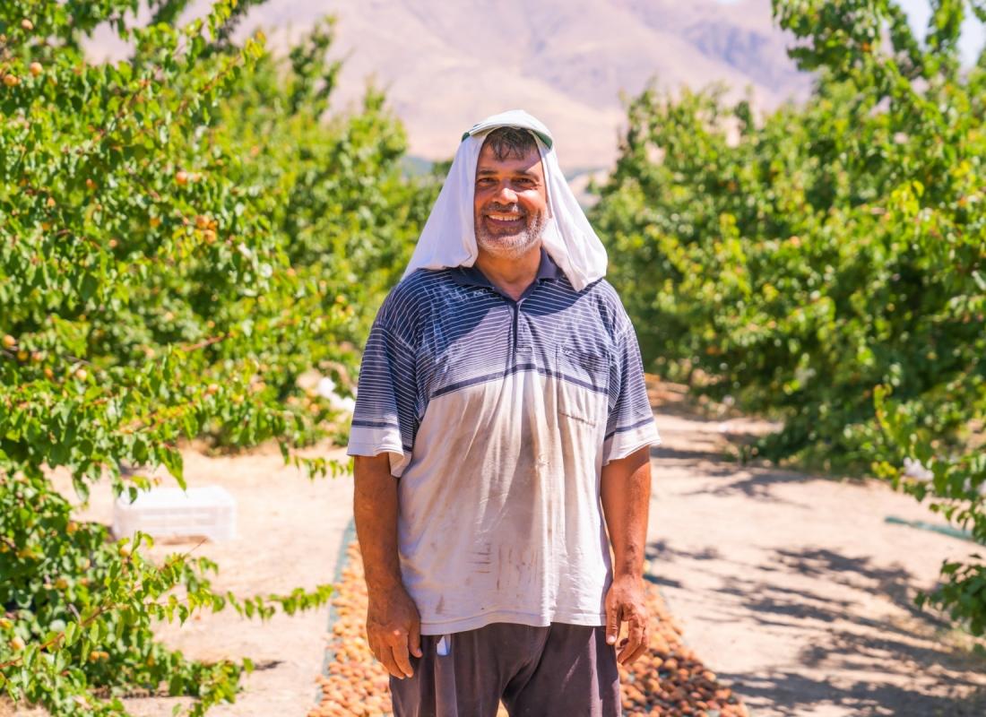Koser, un produttore di albicocche – Malatya, Turchia