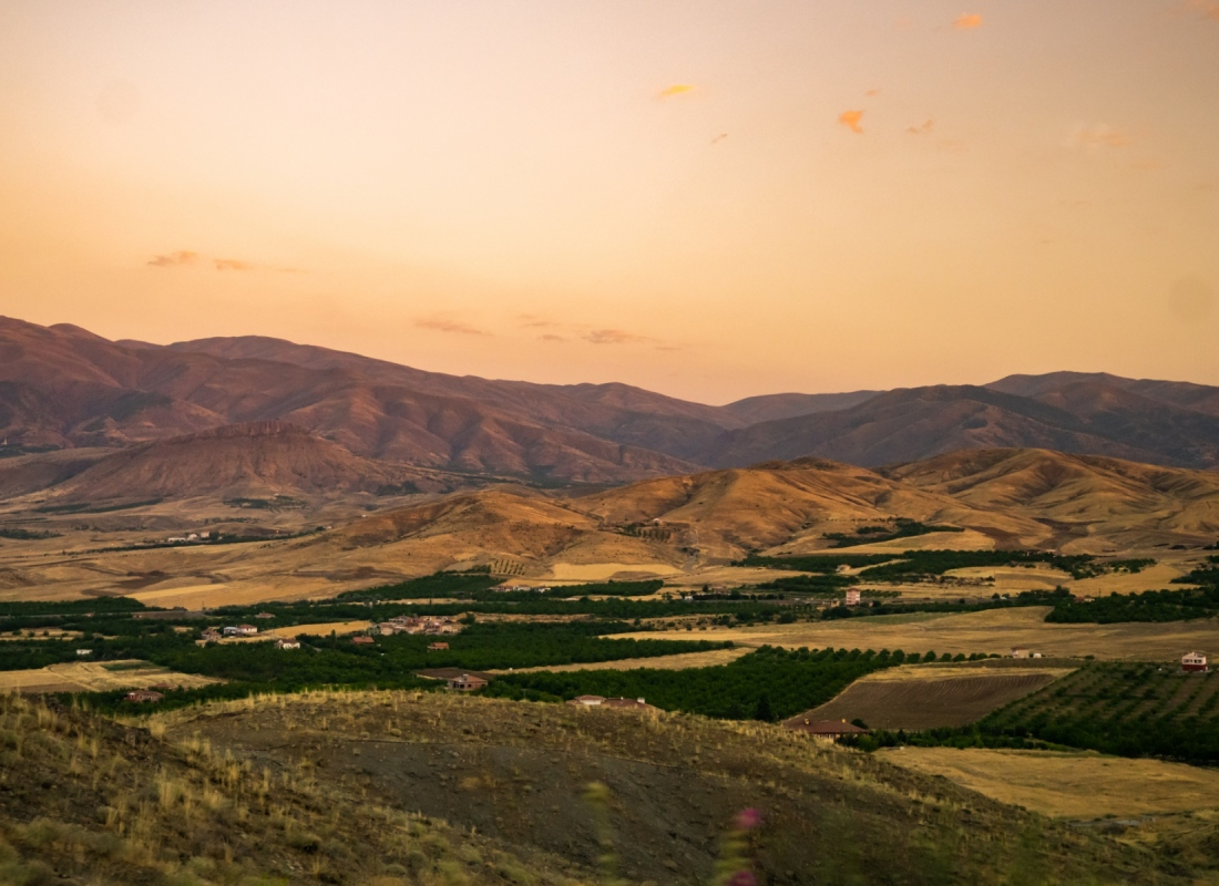 Gli altopiani della Malatya semi desertici – Malatya, Turchia