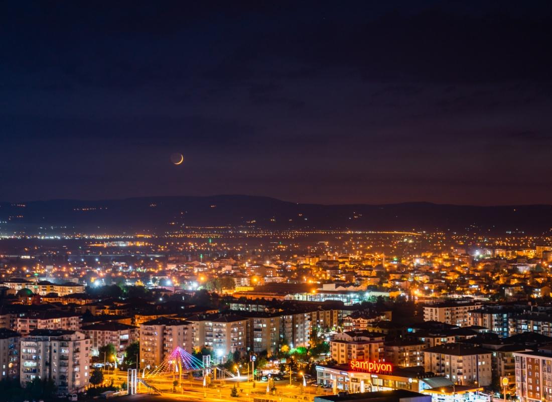 Vista della città Malatya – Malatya, Turchia
