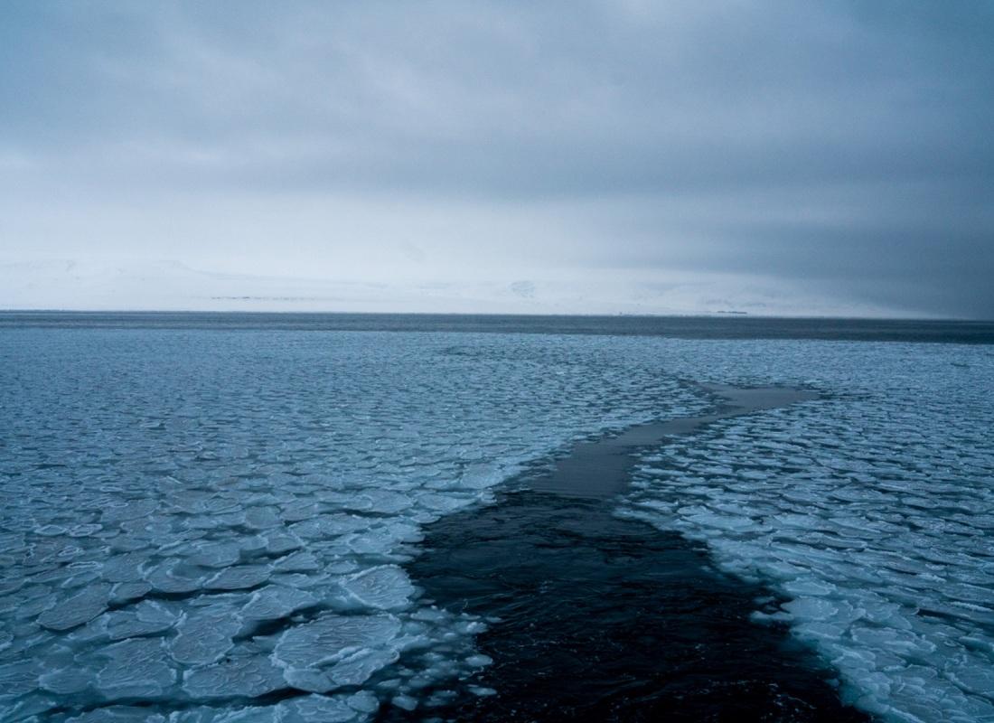 A marzo il ghiaccio sul mare comincia a sciogliersi e fare spazio alle navi che portano rifornimenti sull'isola e turisti nei fiordi vicini a Longyearbyen. Questo è il Polo senza essere al Polo. E' la meraviglia dell'artico.